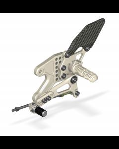 Rear Set Kit, Yam R3 2015- , Aero Hard
